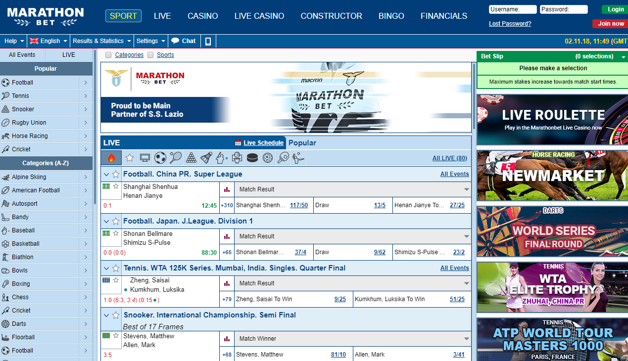 marathonbet sportsbook review